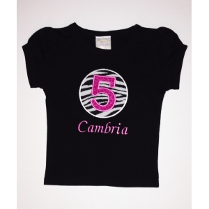 Age & Name Personalized Birthday Shirt