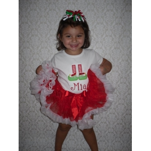 Lil Elf Shoes Applique Top