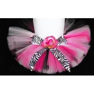 Zebra Couture Tutu