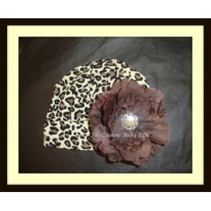 Leopard Luxe Peony Hat