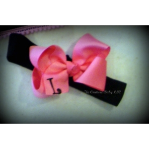 Personalized Boutique Bow Headband