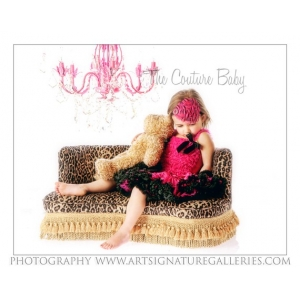 Hot Pink & Black Pettiskirt