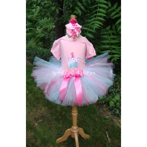 Cupcake Birthday Bash Tutu set