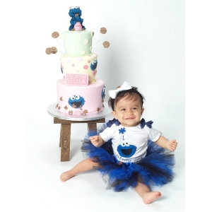 Cookie Birthday Tutu Set