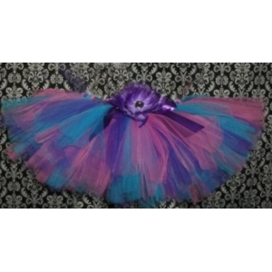 Abby Purple, Teal & Pink Tutu