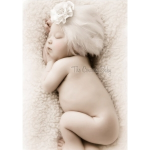 Children White Headbands