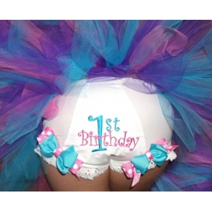 First Second or Third Birthday Personalized Bloomers