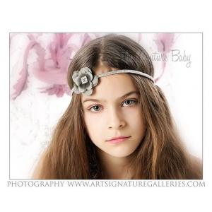 Simply Silver Gorgeous Hollywood Headband