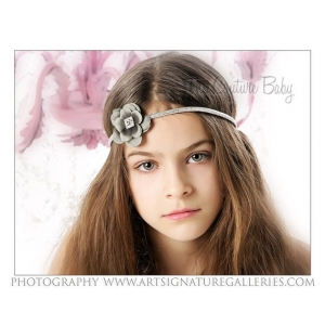 Simply Silver Gorgeous Hollywood Headband
