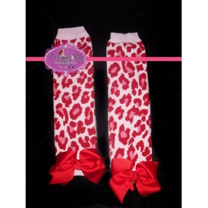 Leopard Couture Leg Warmers