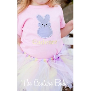 Marshmallow Peep Bunny Shirt or Onesie