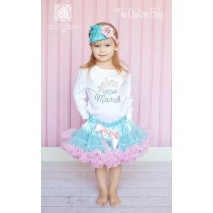 Miss Month Birthday Pettiskirt Set