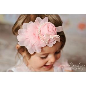 Pearlicious Pink Headband