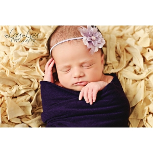 Lavender Petite Floral Headband