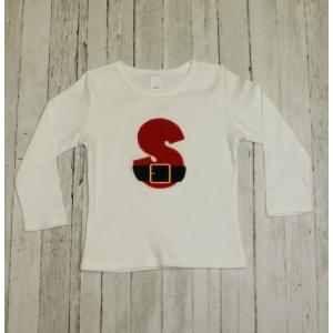 Santa Initial Shirt