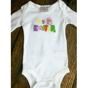 My 1st Easter Custom Onesie