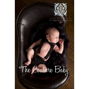 Little Man Luxe Black Suspender Set