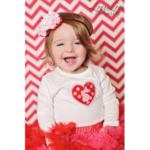 Heart Initial Shirt or Onesie valentines day Valentine's Day