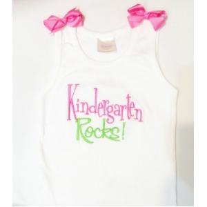 Kindergarten Rocks  Shirt Customize Colors!