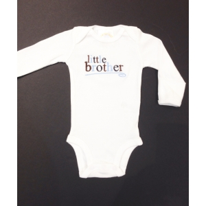 Little Brother Custom Onesie