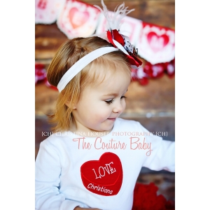 Love Heart Personalized Valentine's Day Shirt