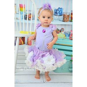 Princess Sophia Birthday Pettiskirt Set