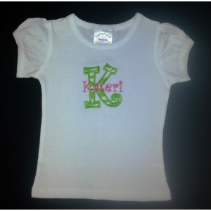 Lime Zebra Personalized Shirt