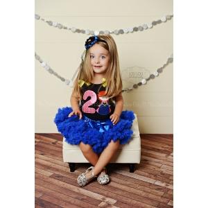 Anna Birthday Pettiskirt Set Ages 1 2 3 4 5