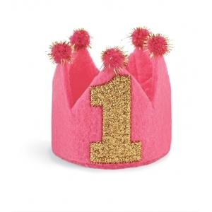 I'm One Birthday Crown Headband Mud Pie