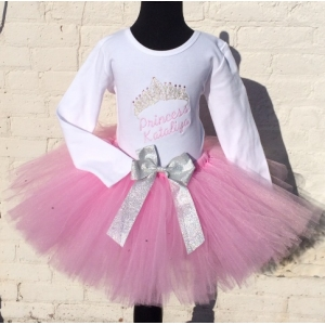 Princess Crystal Tiara Tutu Set