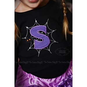 Spider Web Personalized Shirt Boy or Girl