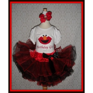 elmo princess tutu set