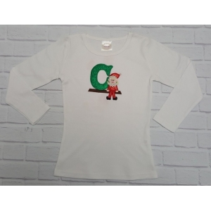 Elf On A Shelf Personalized Boy Or Girl Shirt