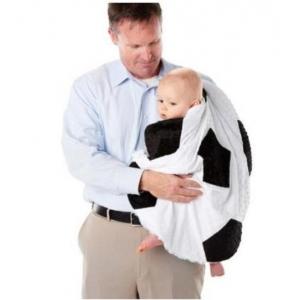 Minky Reversible Soccer Blanket