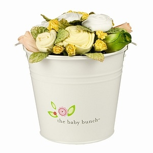 Medium Yellow Baby Bunch Bucket Gift Set