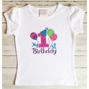 Party Time Personalized Birthday Shirt 1st, 2nd, 3rd, 4th, 5th,