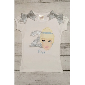 Cinderella Personalized Birthday Shirt or Onesie
