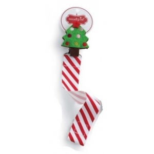 Christmas Tree Pacifier Clip