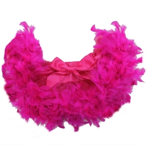 Pink Feather Pettiskirt