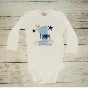 Twinkle Twinklke Little Star First Birthday Onesie or T Shirt