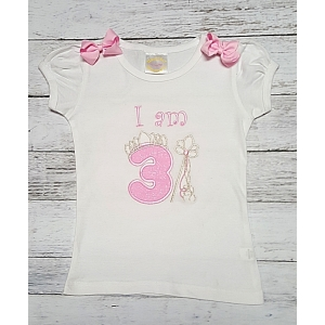 Princess Silver Crown and Sceptor Personalized Pink & Silver Shirt Or Onesie