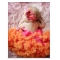 Hot Pink & Orange Pettiskirt