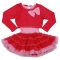 Big Bow Back Dress Hot Pink/Pink Lady-Ooh La La Couture
